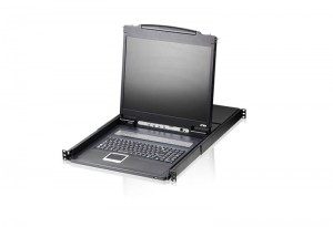 ATEN $ATEN 8-port KVM PS/2 +USB, OSD, rack, 19 LCD
